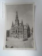 D163778  Czechia - Liberec -Reichenberg - Radnice -Rathaus  Tram  PU 1950 - República Checa