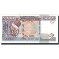 Billet, Guinea, 5000 Francs, 1960, 1960-03-01, KM:38, SUP - Guinea