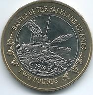 Falkland Islands - Elizabeth II - 2014 - 2 Pounds - KM171 - 100th Anniversary Of The Battle Of The Falklands - Falkland