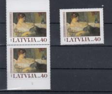 Lettland Michel Cat.No.  Mnh/** 636 + D/D - Latvia