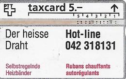 PTT: K-92/147A 208L Raychem - Schweiz