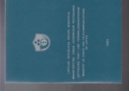 Lettland Michel Cat.No.  Mnh/** 305/312 Special Folder - Latvia
