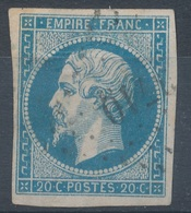 N°14 NUANCE ET OBLITERATION. - 1853-1860 Napoleone III