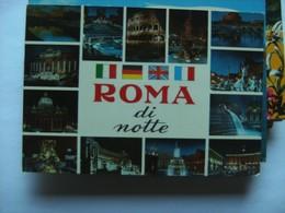 Italië Italy Italien Roma Di Notte - Roma (Rome)