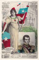 Chile - LOS DESTINOS DE AMERICA - Jeneral O'Higgins, Batalla Del Roble, Batalla De Maipu Y 1a. Salida De La Escuadra. - Chile