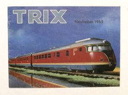 Catalogo Modellismo Ferroviario - Trix Express - Neuheiten 1965 - D - Livres, BD, Revues