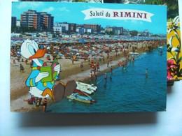 Italië Italy Italien Emilia Romagna Saluta Da Rimini Donald Duck - Rimini