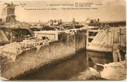 BELGIQUE NIEUPORT RUINES DE L'ECLUSE - Nieuwpoort