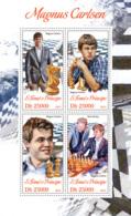 Sao Tome 2013 Magnus Carlsen, (Chess) - Sao Tome And Principe