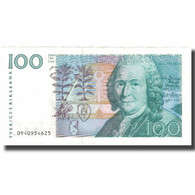Billet, Suède, 100 Kronor, 2001, 2010, KM:65c, SUP - Sweden