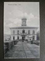 Antique Tarjeta Postal - Peru Perou - Aduana De Payta - Botica Railroad Station - Nestor Garrido - Peru