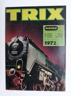 Catalogo Modellismo Ferroviario - Trix - Minitrix 1972 - Libri, Riviste, Fumetti