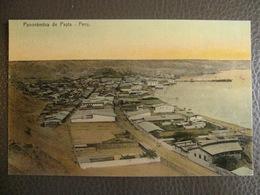 Antique Tarjeta Postal - Peru Perou - Panoramica De Payta - Nestor Garrido - Pérou