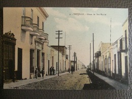 Antique Tarjeta Postal - Peru Perou - Trujillo - Giron De San Martin - Emilio Paredes - Pérou