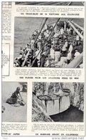 Patriote Illustré 23/10/1927 Barrage Géant En Californie Tortues Japon Schildpad Japan Aviateurs Mer Train états-unis - Mariage