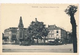 CPA - Belgique - Brussels - Bruxelles - Etterbeek - Place St-Pierre Et Athénée Des Filles - Etterbeek