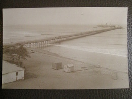 Antique Photograph Tarjeta Postal - Peru Perou - Pacasmayo (north Trujillo) - Boat Marine - Pérou
