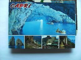Italië Italy Italien Campania Napoli Capri Grotta Azzurra - Napoli (Napels)