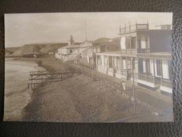 Antique Photograph Tarjeta Postal - Peru Perou - Pacasmayo (north Trujillo) - City On The Beach - Pérou