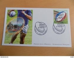 FDC France : Bravo Et Merci, Coupe Du Monde De Rugby En NZ - Paris 24/10/2011 - FDC