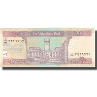 Billet, Afghanistan, 20 Afghanis, SH1381(2002), 2002, KM:68a, SPL+ - Afghanistan