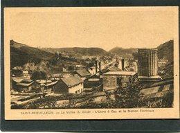 CPA - SAINT BRIEUC-LEGUE - La Vallée Du Gouët - L'Usine à Gaz Et La Station électrique - Saint-Brieuc