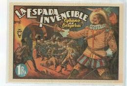 Ficha Tebeo Numerada 277: Cyrano De Bergerac: La Espada Invencible, Editorial Alvaro Perez - Libros, Revistas, Cómics