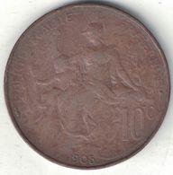 France 10 Centimes 1905 - France