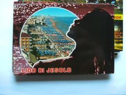 Italië Italy Italien Lido Di Jesolo With Naked Lady - Venetië (Venice)