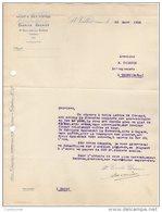 26 SAINT VALLIER St  COURRIER 1925 ROUES Et BOIS CINTRES Charles GRENIER   * S11 Drôme - 1900 – 1949