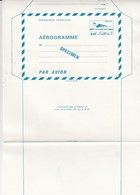 FRANCE - AEROGRAMME  SPECIMEN BLEU CONCORDE 1.60  / TBS - Aérogrammes