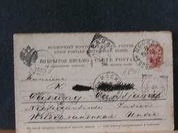 A8965  CP RUSSE  1903 - Briefe U. Dokumente