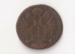 AUTRICHE 1 Kreuzer 1800 S - Austria