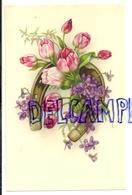 Fer à Cheval, Tulipes, Violettes. Coloprint Spécial 6233 - Non Classés