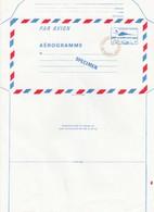 FRANCE - AEROGRAMME  SPECIMEN BLEU CONCORDE 3.10 POUR CENTRE INSTRUCTION POSTES- NANCY 54  / TBS - Aérogrammes