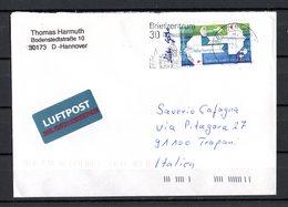 Germania R F T. :   Poste - Isolato  Su Lettera   Cat. Mi  2387 -  5.02.2004 - [7] Repubblica Federale