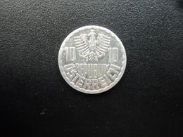 AUTRICHE : 10 GROSCHEN   1997   KM 2878    SUP+ - Austria