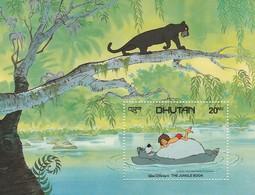 Bhutan - Disney  Shet  Yvert N 86/87 Anno 1982 - Disney