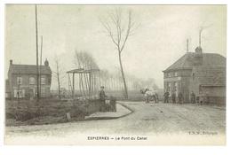 Espierres. Spiere. Le Pont Du Canal. **** - Espierres-Helchin - Spiere-Helkijn