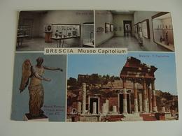 BRESCIA  MUSEO CAPITOLIUM    VIAGGIATA  COME DA FOTO - Museum