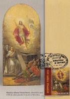 CHRISTIANITY, JESUS' RESURRECTION, EASTER, CM, MAXICARD, CARTES MAXIMUM, 2012, ROMANIA - Christianisme