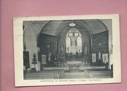 CPA  - Parpeville , Par Ribemont  -(Aisne ) - L'église  - Vue Intérieure - France