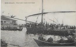 MEZE :(Hérault ) : Fête Locale- Course Sur La Bigue Et Chute .(1920 ) - Mèze