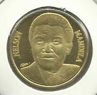 50 Francos 2012 Gabon (Nelson Mandela) Rare - Gabón