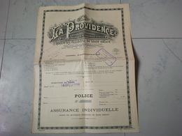 LA PROVIDENCE COMPAGNIE ANONYME D ASSURANCES A PRIMES FIXES - Banque & Assurance