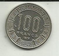 100 Francos 1975 Gabon - Gabón