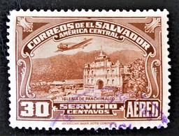 EGLISE DE PANCHIMALCO 1937 - OBLITERE - YT PA 52 - MI 545 - Salvador