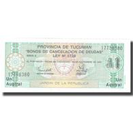 Billet, Argentine, 1 Austral, 1991, 1991-11-30, KM:S2711b, SUP+ - Argentine