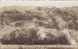 [68] Haut-Rhin > Vieil Armand Hartmannswillerkopf  Carte Photo Panorama Du Champs De Bataille Tampon Souvenir Français - Autres Communes