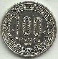 100 Francos 1985 Gabon - Gabón